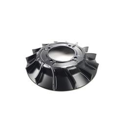 CNC / STREET black aluminum cooling fan for Vespa VMC ignition