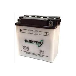 Batterie Elektra 12V 9AH pour Vespa PX avec démarrage électrique Dimensions en mm: 130x70x140