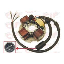 Electronic stator for Vespa PK 50XL, Rush, N without 3-wire electric starter