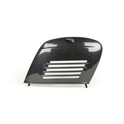 Carbon Look engine side door for Vespa 50 N 2 series - R - Special - 90 - 125 Primavera - ET3