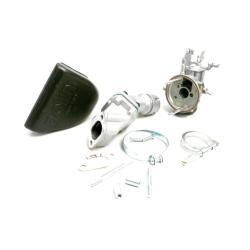 Carburetor kit dell'orto SHBC Ø19 with 2-hole reed manifold for Vespa 50, ET3, Primavera