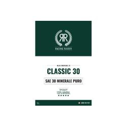 Classic 30 SAE 30 pure mineral gear oil 1 liter pack for Vespa