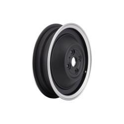 """Llanta tubeless SIP 2.15x10 """", color negro con borde pulido para Vespa 50 N- R- L"""