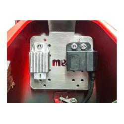 Support bracket for voltage regulator under the saddle for Vespa 50, Primavera, ET3