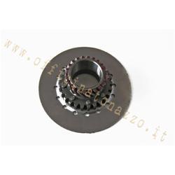6752 - Pignon Z 20 mailles sur primaire Z67 - Z68 pour embrayage 6 ressorts Vespa