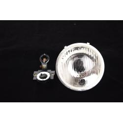 Frontglasleuchte komplett mit Lampenfassung für Vespa 90 SS von 1966, Vespa 125 Primavera - ET3, 125/150 Super