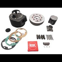 Cilindro de hierro fundido VMC 177cc, bujía central, carrera de 57 mm y diámetro de 63 mm, dos anillos para todos los PX 125/150 - Sprint Veloce - TS - LML Star Deluxe 125/150 / Cosa