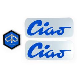 Adhesive plates kit for Piaggio Ciao mopeds