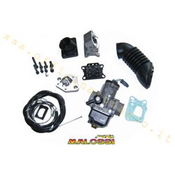 Reed power supply kit to Malossi crankcase complete with Ø1615550 carburetor for Vespa PX30 - PE200