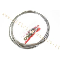 30050000 - Braided hydraulic hose to be assembled for Vespa disc brake, Length. 2000 mm, Ø 6 mm