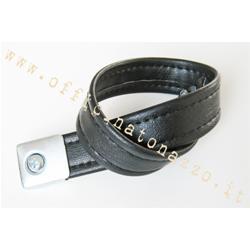 9512 - Mittlere Riemenlänge 47.5 cm schwarz für Vespa PX Arcobaleno Sattel