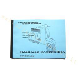 ET3 50 Special Werkstatthandbuch VESPA für Vespa 50 R Primavera 125