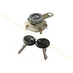 148151 - Interruptor con llave de marca Siem para Vespa Rally