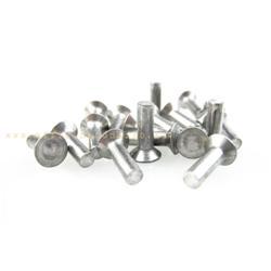 Remache aluminio Ø3x10mm fijación listones estribo para Vespa