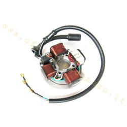 Stator PIAGGIO for Vespa PK 50S cod. original piaggio 199518, 5 wires