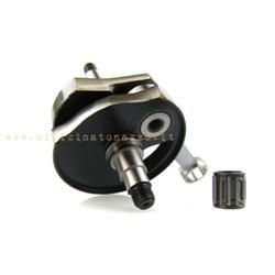 amt186 - Mazzucchelli crankshaft anticipated stroke 51 cone 20 for Vespa PK50XL - 125 XL