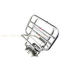0228 / C - Portaequipajes trasero cromado Faco para Vespa 50 Special - Primavera - ET3