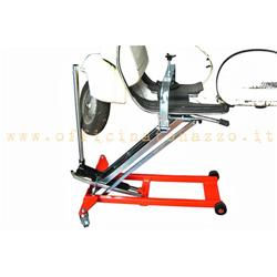 SXV-13 - Vespa hydraulic manual lift with articulated template (360 °)