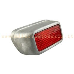 F20 / C - Metal rear light for Vespa 54 '> 58' - 125 VN1> 2 - VNA1> 2 - VL 1> 3 - VB1 - GS 150 VS1> 3 (branded Siem)