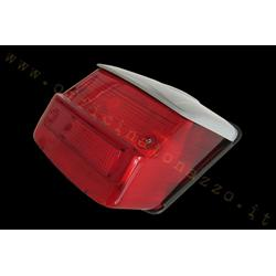 rp209 / gr - Body bright red rear light with gray roof for Vespa 125 GTR - TS - 150 Sprint> 0118590 - Sprint Veloce - 200 Rally