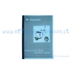OTZ0019 - Service station manual for Vespa PK50 XL Plurimatic