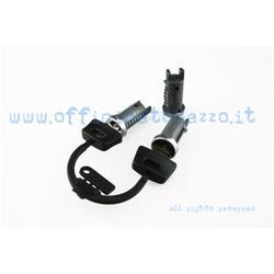 6210-3 - Antivol de direction - top case - selle (3 cylindres) pour Vespa PX Arcobaleno - T5