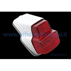 p213 - Rear light in glossy plastic complete with gasket for Vespa 90 - 90SS - 125 Primavera> 0140161