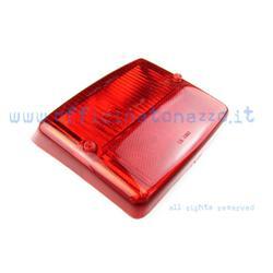 T229061 - Cuerpo luz trasera rojo brillante para Vespa PK 50N (FL1)> 89 - PK 50N - PK50 FL2> 90 - PK 50 Automático FL2> 90