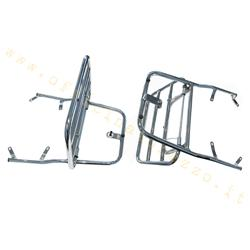 169 - Chromed rear luggage rack with flap for Vespa GT 125L - 200L