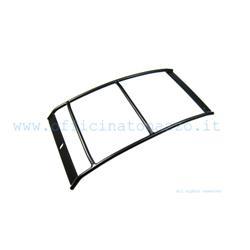 75402000 - Porte-bagages arrière noir 30x20 cm pour Vespa Sprint - Sprint Veloce - GL - GT - GTR - TS - RALLY 180/200 - Super - SS180 - GS160