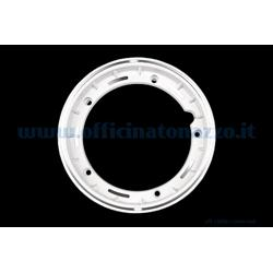 "5623 - Tubeless alloy rim 2.50x10 ""white channel for Vespa Cosa and adaptable to Vespa PX (valve and nuts included)"