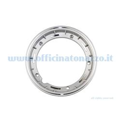 "5620 - Tubeless alloy rim 2.50x10 ""metallic gray for Vespa Cosa and adaptable to Vespa PX (valve and nuts included)"