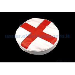 "100266 - Vespa spare wheel cover with English flag for 8 ""wheel"