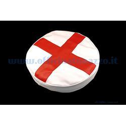 """100266 - Vespa Reserveradabdeckung mit englischer Flagge für 8 """"Rad"""