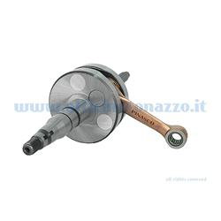 10080802 - Pinasco crankshaft 12mm pin round flywheels Scooter 50 Gilera - Piaggio