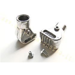 5055 - Patins de trépied Vespa en aluminium poli Ø20mm