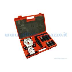 "Case complete with tools for removing bearings and motor shaft bushings Ø 37-76mm ""BUZZETTI"""