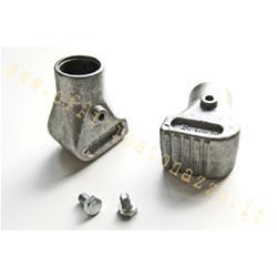 5040 - Zapatas Vespa en aluminio arenado Ø22mm