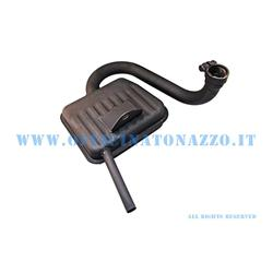 0211 - Silenciador tipo original Sito para Vespa 125 GT - 125 GTR VNL2T - 150 Sprint VLB1T - 150 Sprint Veloce VLB1T