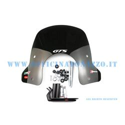 28520 - Windshield Faco new design smoked model complete with attacks for Vespa GTS 125-250-300