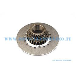 DR020178 Z 24 sprocket mesh on original Piaggio Z 65 primary gear (ratio 2,70) helical for 7-spring clutch Vespa