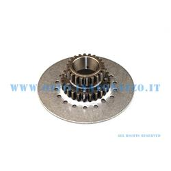 DIPL10721 - DRT pinion Z 21 meshes on primary Z 64 Polini (ratio 3,05) straight teeth for clutch 7 springs Vespa