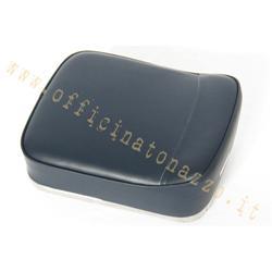 Dunkelblaues Leder-Rückenkissen für Vespa