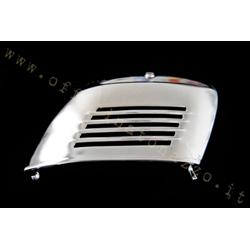 Chromed engine side door with lock for Vespa 50 - ET3 - Primavera