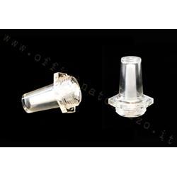 5332 - Transparent oil mixer indicator bulb for Vespa