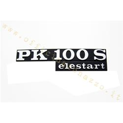 """6126-E - Placa de capó """"PK100S Elestart"""""""