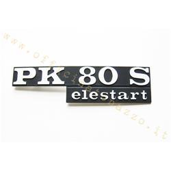 """6125-E - Placa de capó """"PK 80 S Elestart"""""""