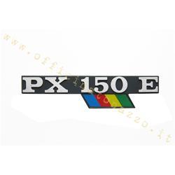 """5791 - Rainbow """"PX 150 E"""" bonnet plate with flag"""