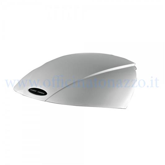 "- Deckblatt für Vespa Shad ""SH29"" Topcase in silberner Farbe"