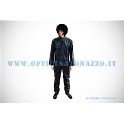 - Waterproof suit, jacket and pants, black color (unisex)